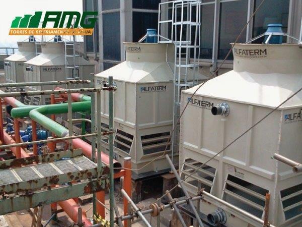 Manutenção torre de resfriamento
