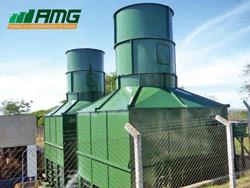 Duto de descarga de ar para torres de resfriamento