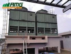 Reforma completa em torres de resfriamento de água modelo 40