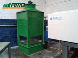 Reforma completa e pintura de torre de resfriamento de água modelo ASP 100