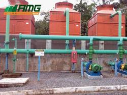 Manutenção em torres de resfriamento de água