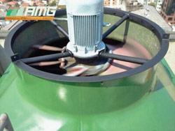 Balanceamento de hélice em torre de resfriamento de água