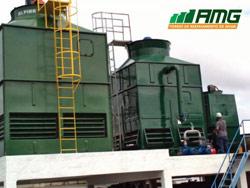 Montagem e reforma de torres de resfriamento de água