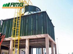 Montagem de torre de resfriamento de água Modelo 310
