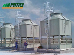 Montagem de Torres de resfriamento de água modelo 1070