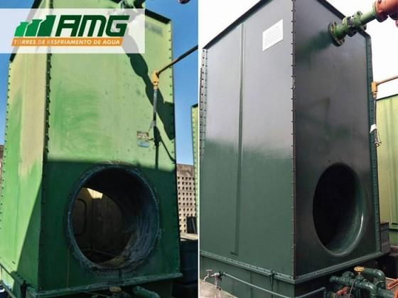 Assistência para Torre de Resfriamento de água para Injetoras Alto da Lapa - Assistência para Torre de Resfriamento água Industrial