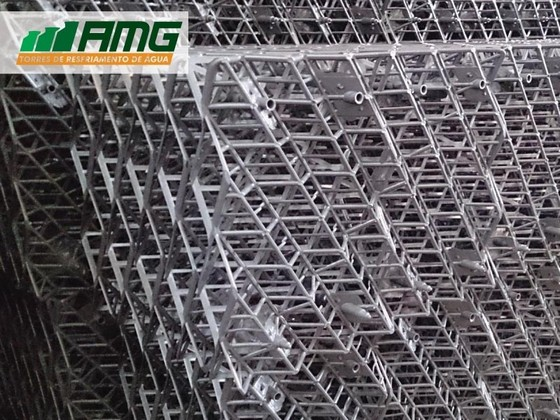 Enchimento de Contato Tipo Grade para Torre de Resfriamento Osasco - Enchimento para Torre de Resfriamento de água Industrial