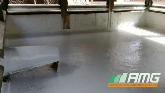 Reforma de Torre de Resfriamento de água Aeroporto - Reforma de Torre de Resfriamento de água Reforma de Torretelli