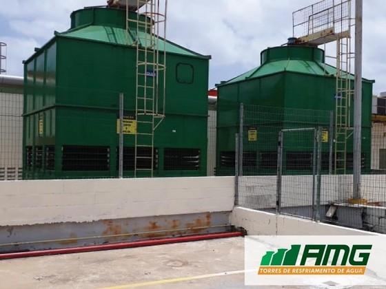 Reforma de Torre de Resfriamento Horizontal Carapicuíba - Reforma de Torre de Resfriamento de água Reforma de Torretelli