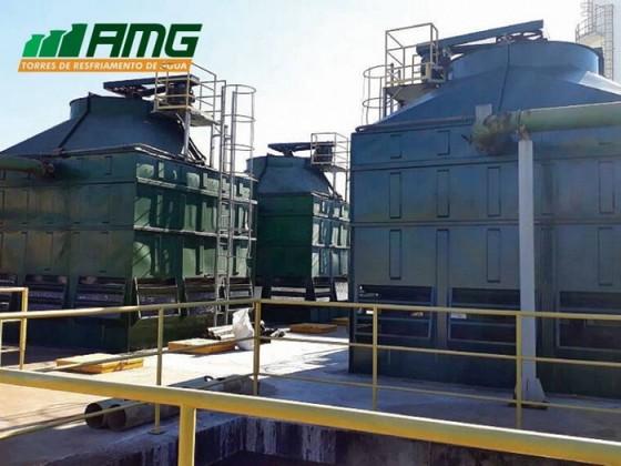 Reforma de Torre de Resfriamento Tratamento de água Paulínia - Reforma de Torre de Resfriamento de água Reforma de Torretelli