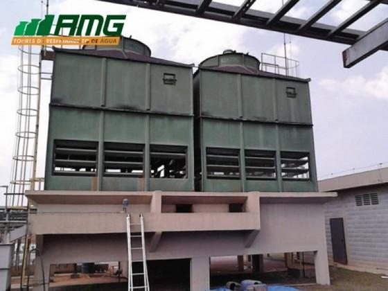 Restauração para Torre de Resfriamento Horizontal Americana - Restauração para Torre de Resfriamento de água