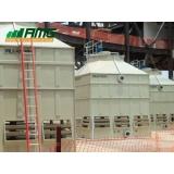 assistência para torre de resfriamento de água industrial