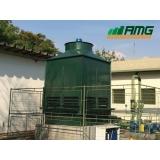 assistência para torre de resfriamento de água para injetoras