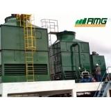 manutenção de torre de resfriamento de água para indústria