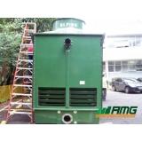 manutenção de torre de resfriamento de água para injetoras