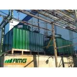 manutenção de torre de resfriamento de água vettor