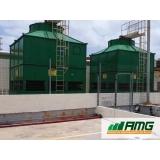 reforma de torre de resfriamento horizontal Santa Isabel
