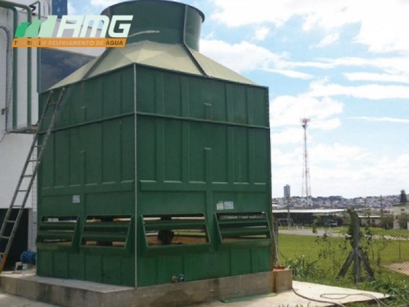 Torre de Resfriamento de água Jardim Paulista - Torre de Resfriamento água